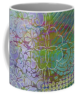 Four Hearts Intertwined Coffee Mug by Desiree Paquette