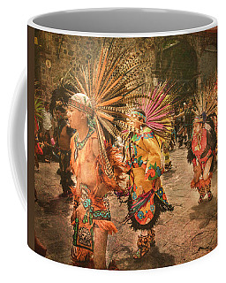 Four Indian Dancers Coffee Mug