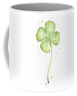 Four Leaf Clover Lucky Charm Coffee Mug