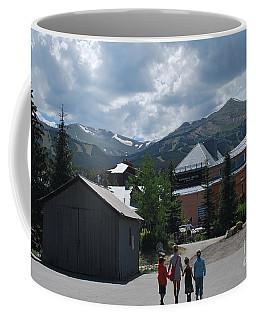 Four Little Children Safe In A Big Beautiful World Telluride Colorado Coffee Mug