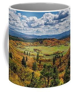 Four Mile Road Peak Color Coffee Mug