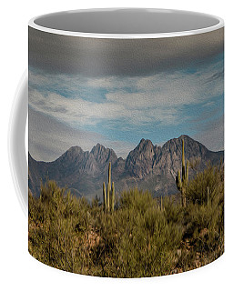 Four Peaks Painterly Coffee Mug
