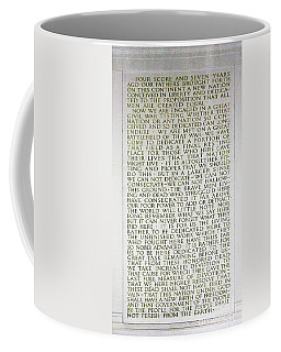Four Score And Seven Years...... Coffee Mug