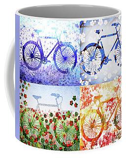 Four Season Bicycle  Coffee Mug