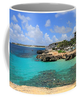 Coffee Mug featuring the photograph Four Seasons Hotel In Anguilla by Ola Allen