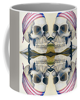 Four Skulls Coffee Mug