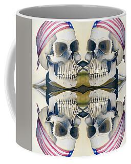 Four Skulls Coffee Mug