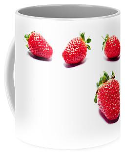 Four Strawberries Coffee Mug