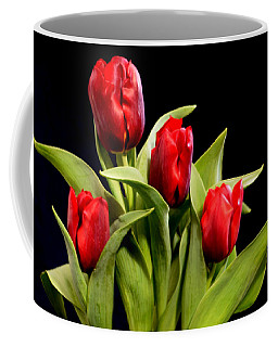 Four Tulips Coffee Mug