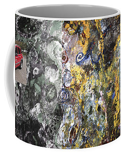 Four Wheel Driving Through Time Coffee Mug