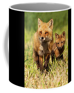 Fox Family Coffee Mug