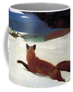 Fox Hunt Coffee Mug