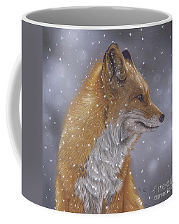 Fox In A Flurry Coffee Mug