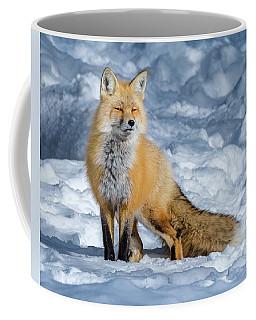 Fox On A Winter Afternoon Coffee Mug