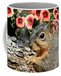 Fox Squirrel Portrait Coffee Mug
