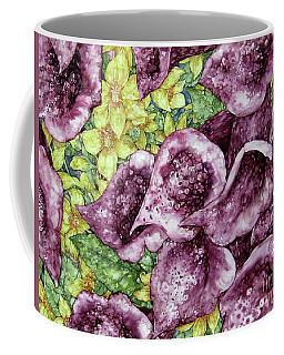 Foxgloves Coffee Mug by Kim Tran