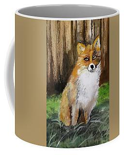 Foxy Lady Coffee Mug by Carole Robins