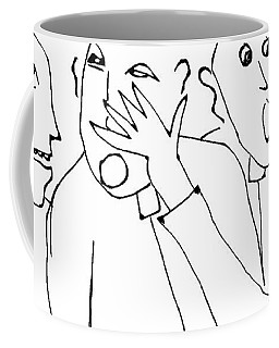 Fr. Tubbs Had Wanted To Backhand Fr. Dick For So Long Coffee Mug