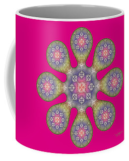Fractal Blossom 1 Coffee Mug