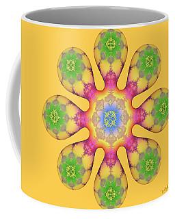 Fractal Blossom 3 Coffee Mug