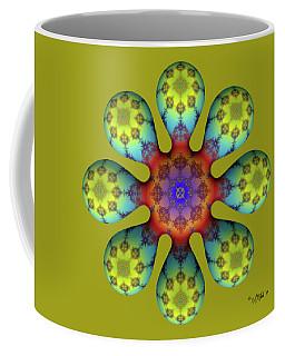 Fractal Blossom 4 Coffee Mug