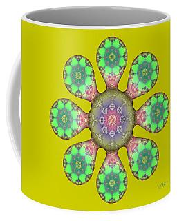 Fractal Blossom 5 Coffee Mug