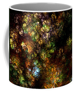 Fractal Flowers Coffee Mug