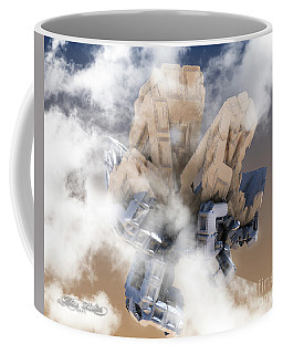 Fractal In The Sky Coffee Mug
