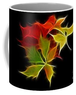 Fractal Leaves Coffee Mug