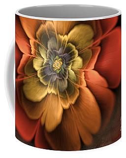 Fractal Pansy Coffee Mug