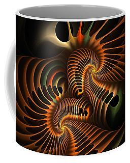 Fractal Spirochete Coffee Mug