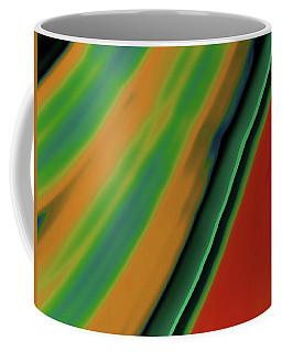 Fractal Stripes Coffee Mug by Bonnie Bruno