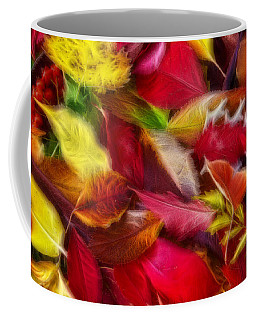 Coffee Mug featuring the photograph Fractalius Leaves by Shane Bechler