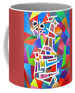Fractured Instrument Of Love Coffee Mug