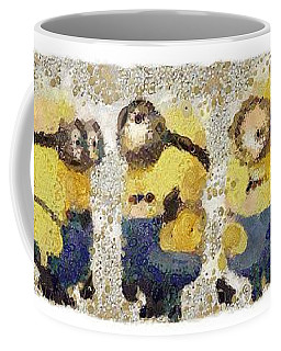Fragmented And Still In Awe Congratulations Minions Coffee Mug