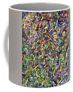 Coffee Mug featuring the painting Fragmented Spring by James W Johnson