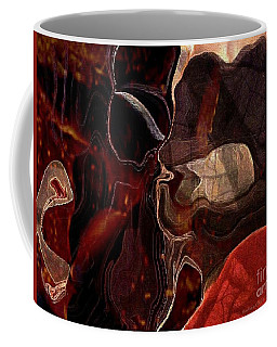 Fragments Of Memory Coffee Mug by Kathie Chicoine