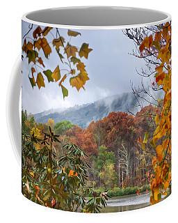 Framed By Fall Coffee Mug