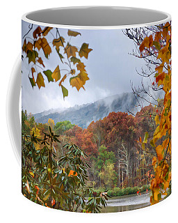 Framed By Fall Coffee Mug by Kerri Farley