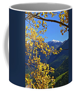 Framed By Fall Coffee Mug by Scott Mahon