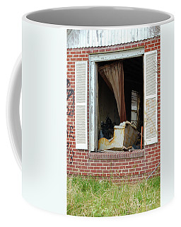 Framed By The Storm Coffee Mug by Kathleen K Parker