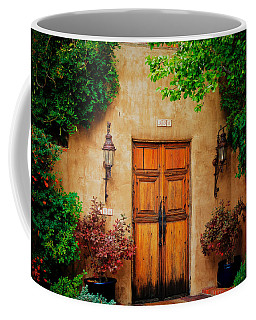 Framed, Santa Fe, New Mexico Coffee Mug