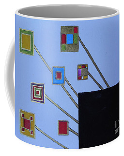 Framed World Coffee Mug