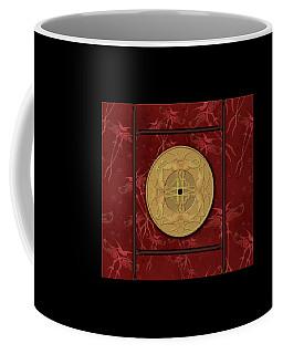 Framed Zenfly Bi Coin Coffee Mug