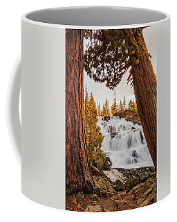 Framing Glen Alpine In Spring Sunset Light Coffee Mug