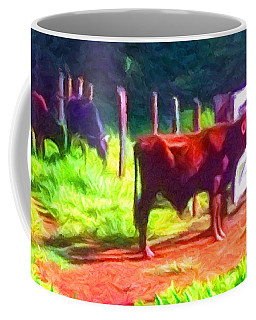 Franca Cattle 2 Coffee Mug by Caito Junqueira