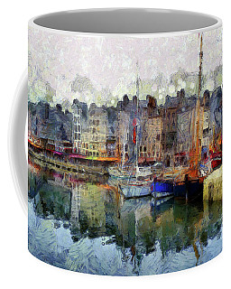 Coffee Mug featuring the photograph France Fishing Village by Claire Bull