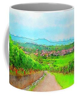 France Landscape Coffee Mug
