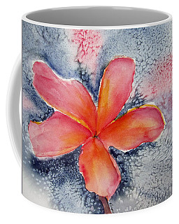 Frangipani Blue Coffee Mug