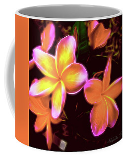 Frangipanis On The Glow Coffee Mug
